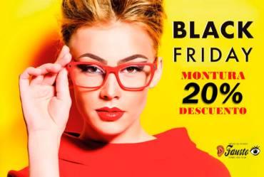 Black Friday en Ópticas Fausto