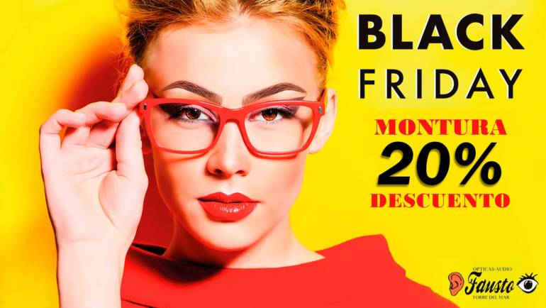 Black Friday en Ópticas Fausto