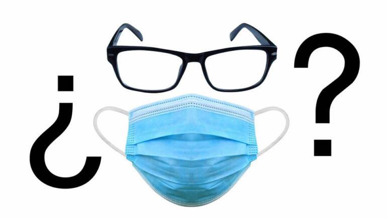 Consejos cuando se empañan los cristales de las gafas